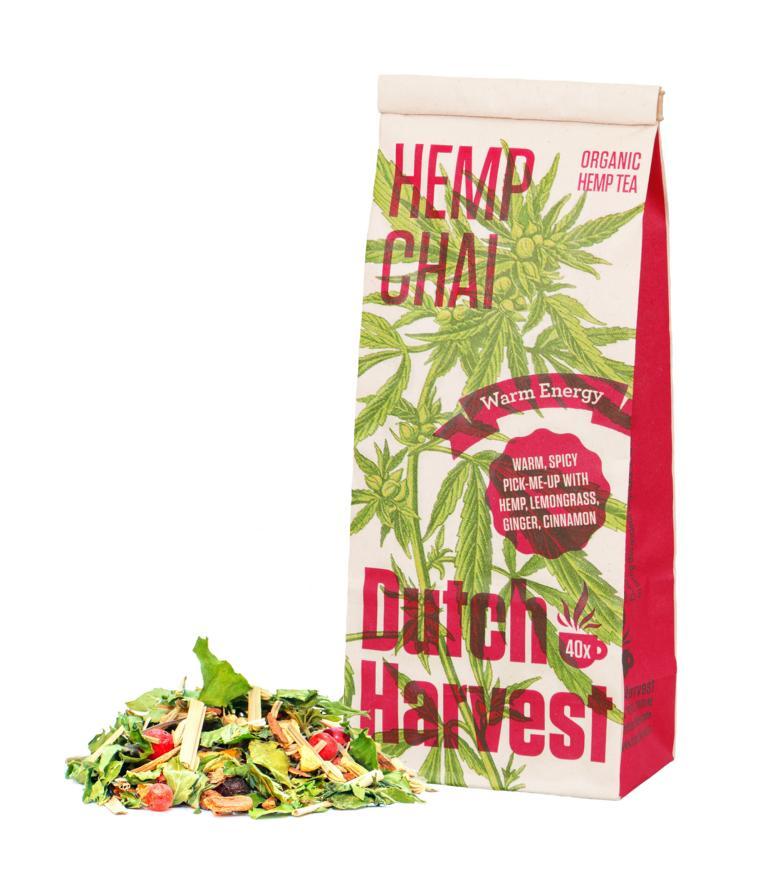 Hanftee Dutch Harvest Hanf und Chai