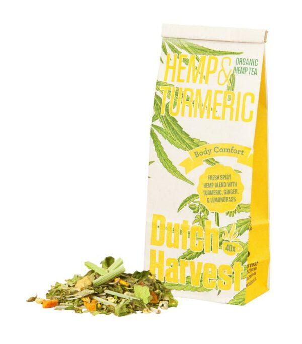 Hemp & Turmeric Hanftee Dutch Harvest Hanf und Kurkuma