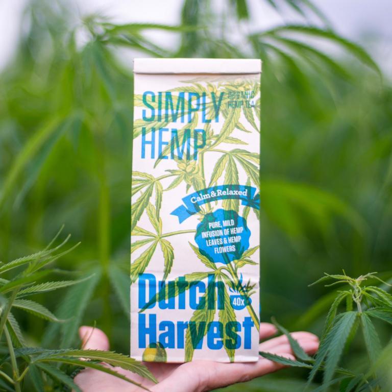 Hanftee Dutch Harvest Pure Hemp