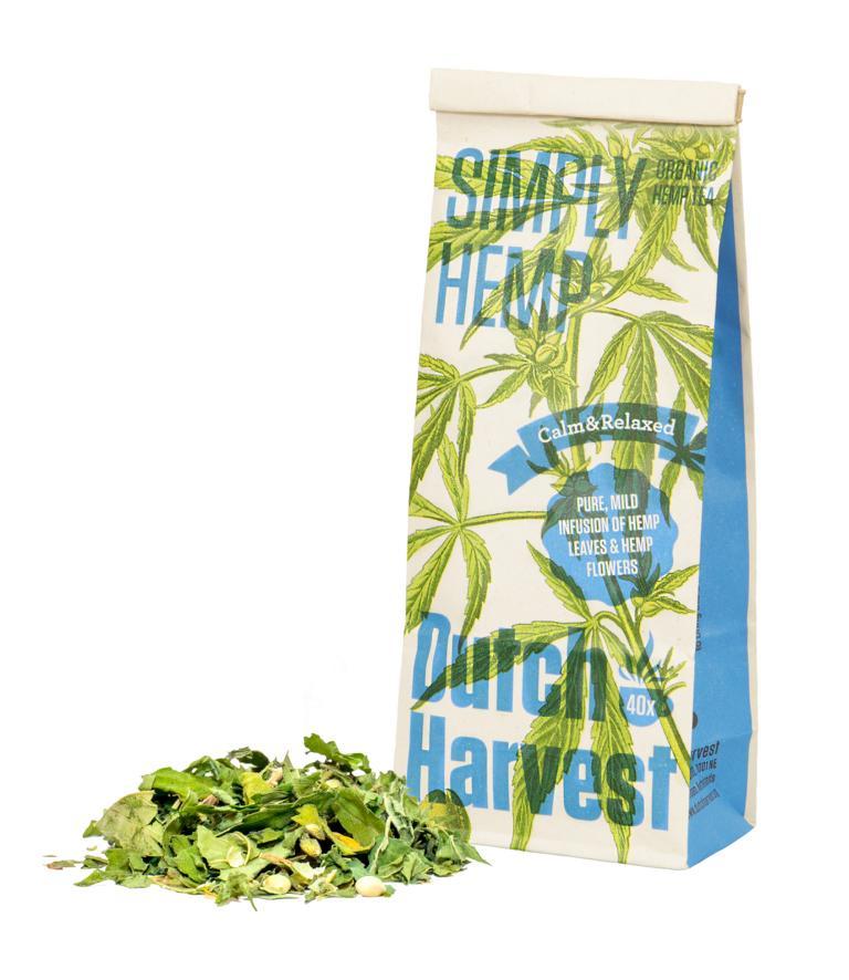 Simply Hemp Hanftee Dutch Harvest purer Hanf