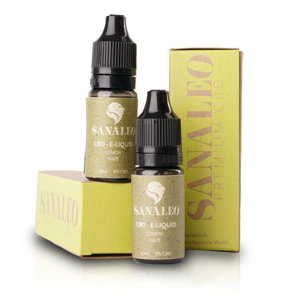 Lemon Haze CBD Liquid - CBD Vape zum Vaporizen