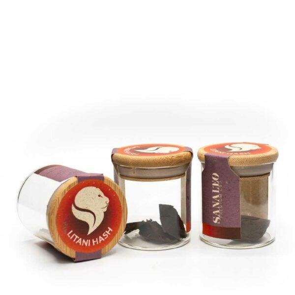 Litani CBD Hasch - Hasch im Glas - Sanaleo CBD